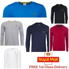 Lyle and Scott Crew Neck Long Sleeve Tshirt for Men