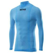 Sixs Turtle Neck Tee L/s Light Blue , Intimo Sixs , motociclismo