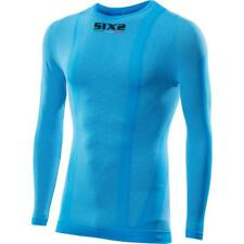 Sixs Tee Round Neck L/s Light blue , Intimo Sixs , motociclismo