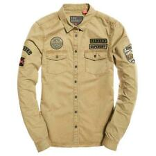 Superdry Rookie Patch Mountain Shirt Light Khaki , Bluse e camicie Superdry