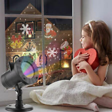 2018 Moving LED Laser Projector Lamp Landscape Snow Light Xmas Halloween Outdoor