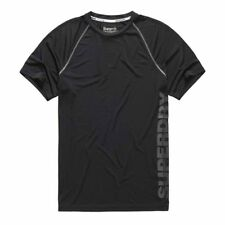 Superdry Sports Active Raglan S/s Tee Gris , Camisetas Superdry , fitness