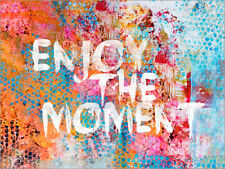 Póster, lienzo o cuadro en metacrilato Enjoy the moment - Andrea Haase
