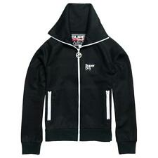 Superdry Drop Track Negro , Sudaderas Superdry , fitness , Ropa mujer