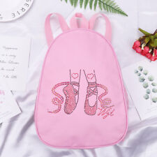 Personalised Kids Backpack - Girls School Bag Ballet Dance Embroidered Rucksack