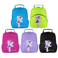 Personalised Kids Girls Backpack Embroidered Tote Ballet Dance Shoulder Bag Case
