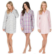 Cottonique Night Shirt Dress Three Designs Small Medium Large Extra Large Cotton