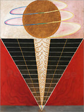 Póster, lienzo o cuadro en metacrilato Paintings for the Temple - H. af Klint