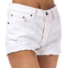 Womens Levi's 501 Shorts In Super Sonic