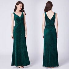 Ever-pretty Long V-neck Celebrity Prom Gowns Formal Gowns Mermaid Dresses 07439