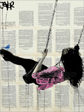 Poster, stampa su tela o vetro acrilico where nothing matters (rose) - L. Jover