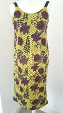 Zara Yellow Floral Summer Dress Sizes S & M Available Brand New With Tags