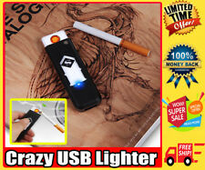 Original Electric USB Cigarette Lighter Rechargeable Windproof Flameless Lighter