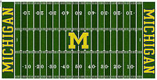 Michigan Wolverines Electric Football Vinyl Field Cover Wall Art