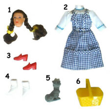 "1974 WIZARD OF OZ 8"" mego doll -- DRESS SHOES SHIRT PANTS HEAD BODY"