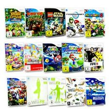Juego Wii Doney Kong Mario & Sónico Nfs Super Smash Wii Fit Wii Sports Zelda