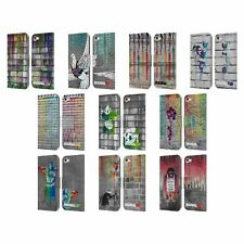 OFFICIAL BRANDALISED DRIPS LEATHER BOOK WALLET CASE FOR APPLE iPOD TOUCH MP3