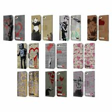 OFFICIAL BRANDALISED VANDALS LEATHER BOOK WALLET CASE FOR APPLE iPOD TOUCH MP3