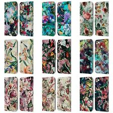 OFFICIAL RIZA PEKER FLOWERS 2 LEATHER BOOK WALLET CASE FOR APPLE iPOD TOUCH MP3