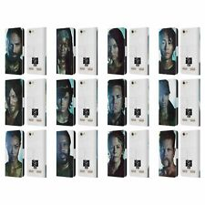 OFFICIAL AMC THE WALKING DEAD CHARACTERS LEATHER BOOK CASE FOR LENOVO PHONES