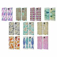 OFFICIAL CAT COQUILLETTE SEA 2 LEATHER BOOK CASE FOR ASUS ZENFONE PHONES