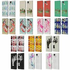 OFFICIAL CAT COQUILLETTE WATERCOLOUR LEATHER BOOK CASE FOR ASUS ZENFONE PHONES