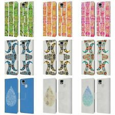 OFFICIAL CAT COQUILLETTE WATERCOLOUR 2 LEATHER BOOK CASE FOR ASUS ZENFONE PHONES