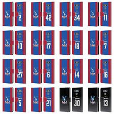 CRYSTAL PALACE FC 2016/17 PLAYERS HOME KIT LEATHER BOOK CASE FOR LG PHONES 1