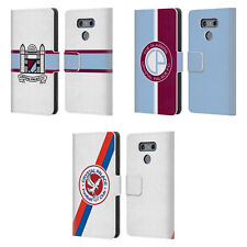 OFFICIAL CRYSTAL PALACE FC 2016/17 BADGE LEATHER BOOK CASE FOR LG PHONES 1