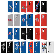 OFFICIAL CRYSTAL PALACE FC THE EAGLES LEATHER BOOK CASE FOR LG PHONES 2