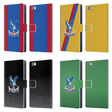 OFFICIAL CRYSTAL PALACE FC 2016/17 KIT LEATHER BOOK CASE FOR HUAWEI PHONES 2