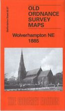 GODFREY EDITION OLD ORDNANCE SURVEY MAPS STAFFORDSHIRE WOLVERHAMPTON