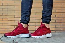 New Men Nike Air Huarache Run Ultra SE Trainer Gym Red Size 8 9 10 uk