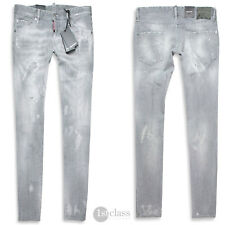 4c0864b8b29 DSQUARED2 Men's Jeans Cool Guy Jean Size 48 50 52 54 Grey Distressed  Dsquared