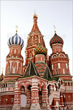 Póster, lienzo o cuadro en metacrilato St. basil cathedral in Moscow
