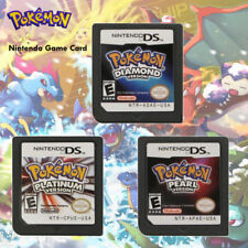 HOT Pokemon Platinum Pearl Diamond Game Card for Nintendo 3DS/DSI NDS NDSL Lite