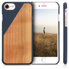 FUNDA PROTECTORA DE MADERA NATURAL PARA APPLE IPHONE 7 8