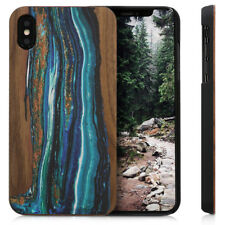 Funda protectora de madera natural para Apple iPhone XS Max