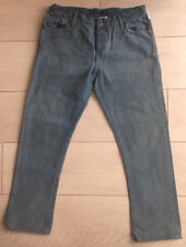 NEW RALPH LAUREN BLUE CROPPED/CAPRI JEANS Size 28W
