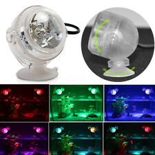 LED Waterproof Aquarium Spotlight Submersible Bulb Light Lamp Fish Tank