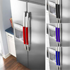 2pcs Refrigerator Door Handle Covers Keep Kitchen Appliance Clean From Cover