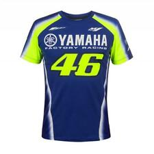 VR46 Yamaha Racing Rossi T-Shirt Blue Moto Gp Valentino Supermoto Men