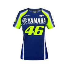 VR46 Yamaha Racing Lady Rossi Ladies T-Shirt Blue Moto Gp Valentino Rossi Women