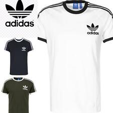Adidas Originals Crew Neck Short Sleeve t shirt Men's California Retro