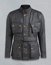 BELSTAFF CLASSIC TOURIST TROPHY BLACK WAXED COTTON MOTORCYCLE JACKET ALL SIZES