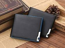 Men Bifold Business Leather Wallet Card Holder Coin Pocket Money Bank Purse Bag