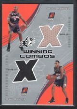 STEPHON MARBURY SHAWN MARION 2002/03 SPX WINNING COMBOS DUAL JERSEY SUNS SP