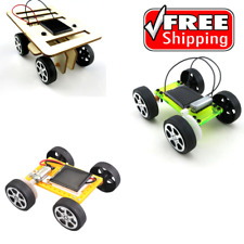 SOLAR POWERED Build Your Own Car Kit Set Kids Educational Toy Set Science Toys
