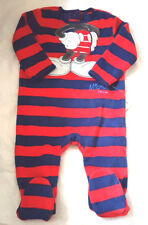 3f85c142a61e Disney Baby Mickey Mouse navy blue red cotton joggers trousers 9 12 ...