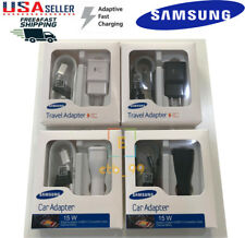 OEM Original Samsung Galaxy S6 S7 Edge Note 4 5 New Adaptive Fast Rapid Charger